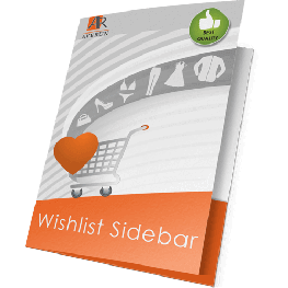 Wishlist Sidebar extension for Magento