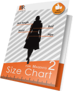 Size Chart for Magento 2