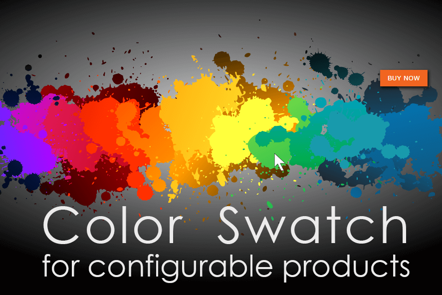 Magento Color Swatch for Configurable Products Extension
