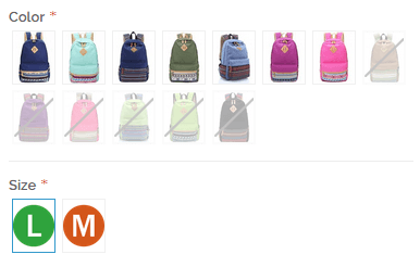 Magento Color Swatch for configurable products extension show disabled out of stock products